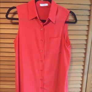 EQUIPMENT red silk tunic